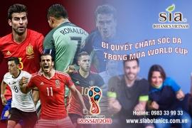 BÍ QUYẾT CHĂM SÓC DA TRONG MÙA WORLD CUP VỚI KEM TRỊ MỤN NÁM TÀN NHANG